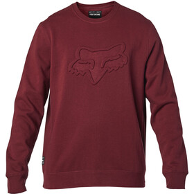 Fox Refract DWR Crew Fleece Pullover Men cranberry